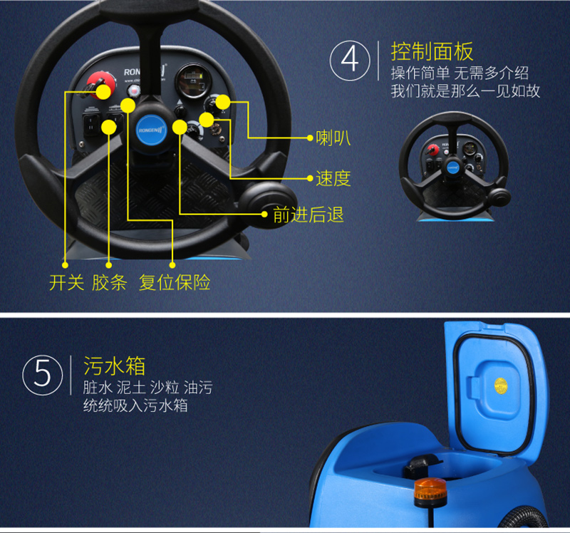 R-QQ驾驶式洗地机