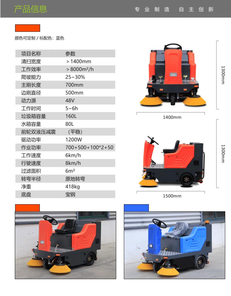 TBS-1450扫地车