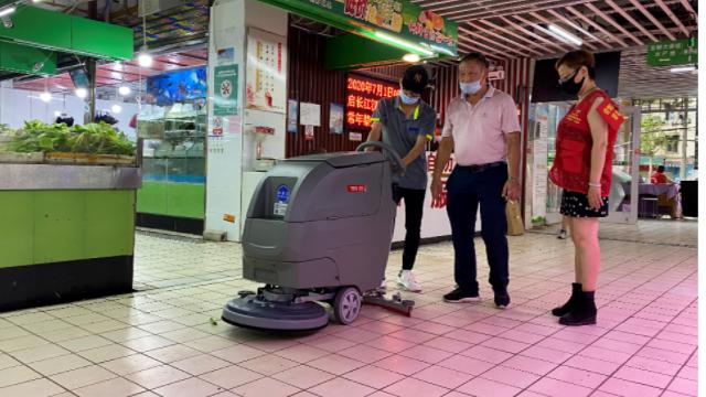 生鲜市场为什么适合用菜市场洗地机来清理?