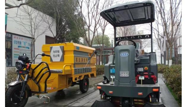 为什么越来越的企事业单位选择使用电动扫地车有效代替人工进行清洁作业?