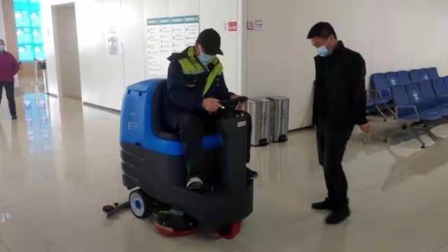 洗地机如何发挥更大的工作效率