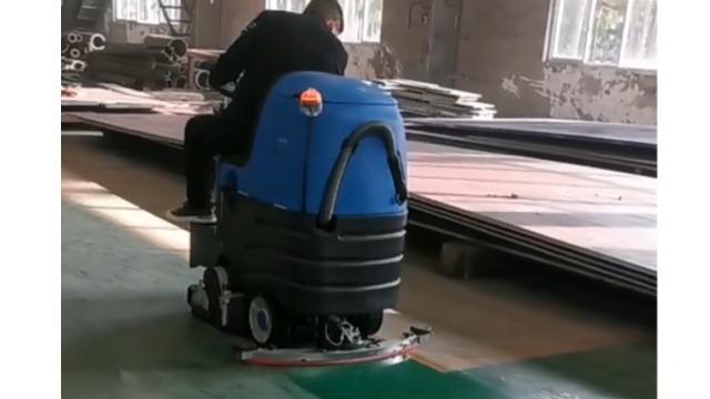 为什么机械制造类的车床车间适合用车间洗扫一体机?