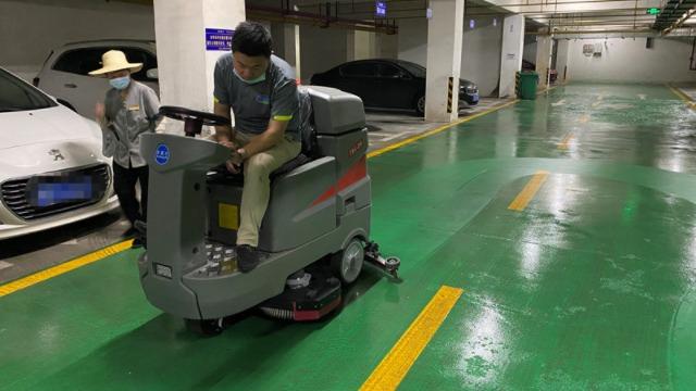 特佰仕洗地机让你彻底告别传统清洁方式