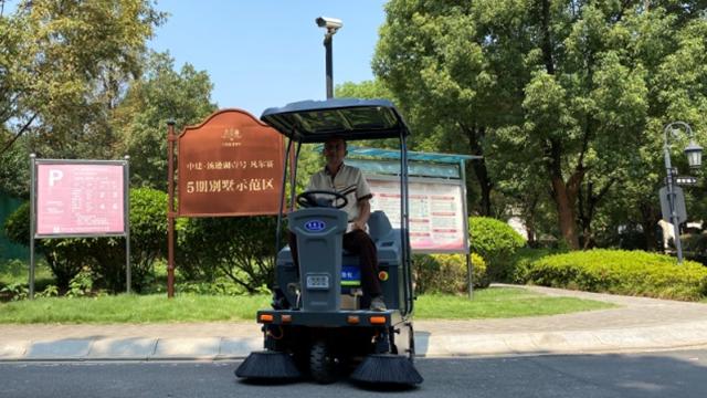 小型扫地车续航时间及工作效率