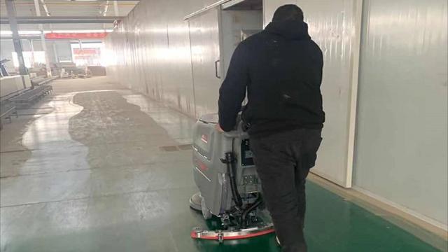 武汉工厂用特佰仕洗地机的七大好处