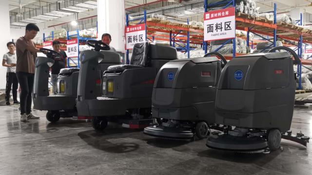 特佰仕洗地机助力企业提升卫生质量