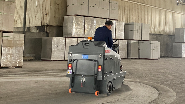 特佰仕TBS-1300扫地车用于石材厂