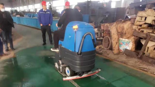 洗扫一体机为鄂州工厂带来深度清洁体验