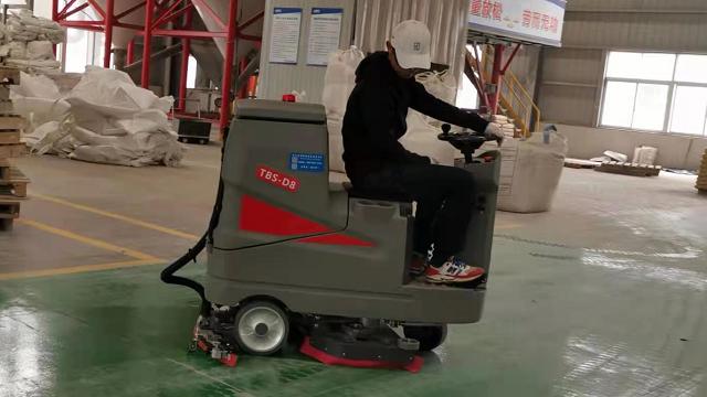 工业洗地机的应用及选择