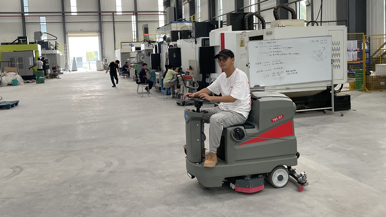 工厂企业如何选购洗地机,武汉洗地机厂家来教你