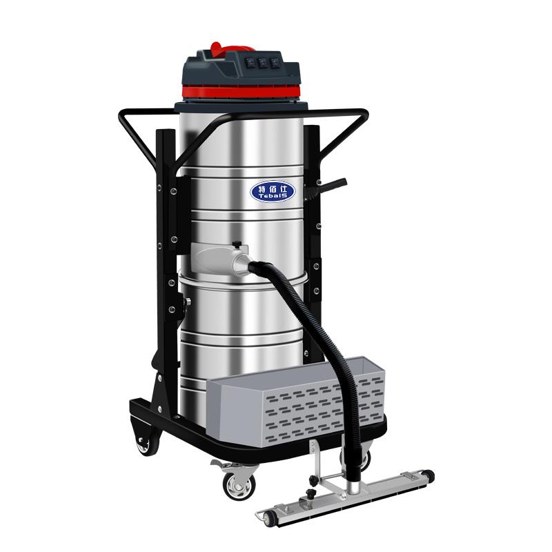 特佰仕TC-3650分离式工业吸尘器,可有效清理大面积灰尘和杂物