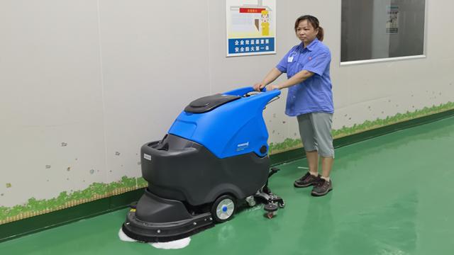 工厂车间为什么需要全自动洗地机