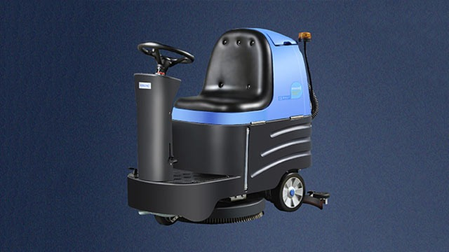 驾驶式洗地机与手推式洗地机的区别让驰诚小编为你揭晓答案